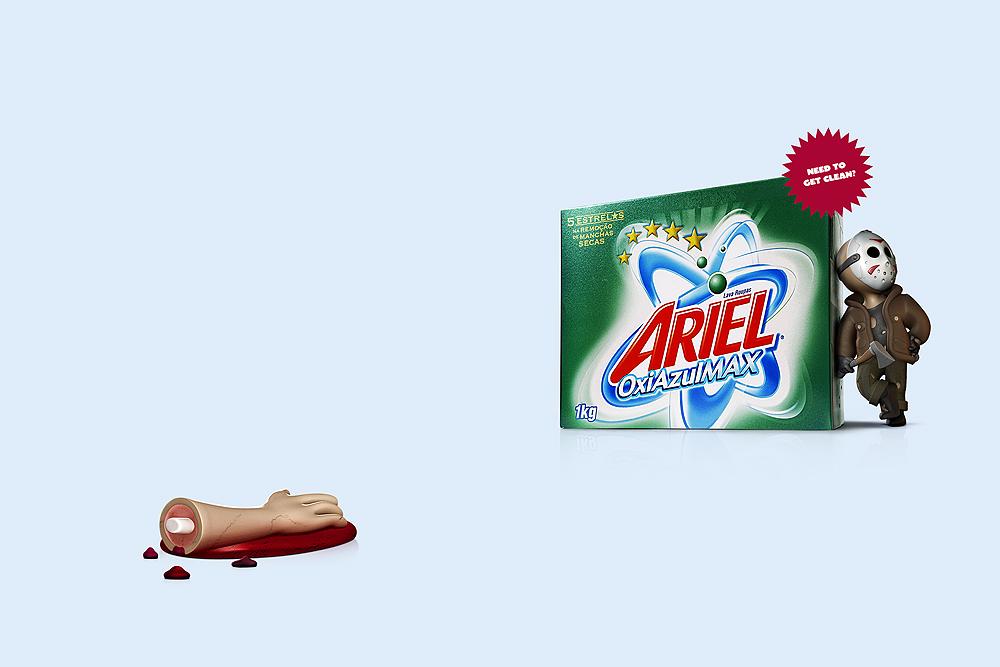Ariel - Get Clean / Saatchi & Saatchi São Paulo