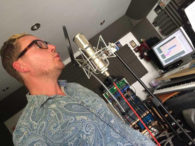 Copy of Dave Pop! at rpl studios