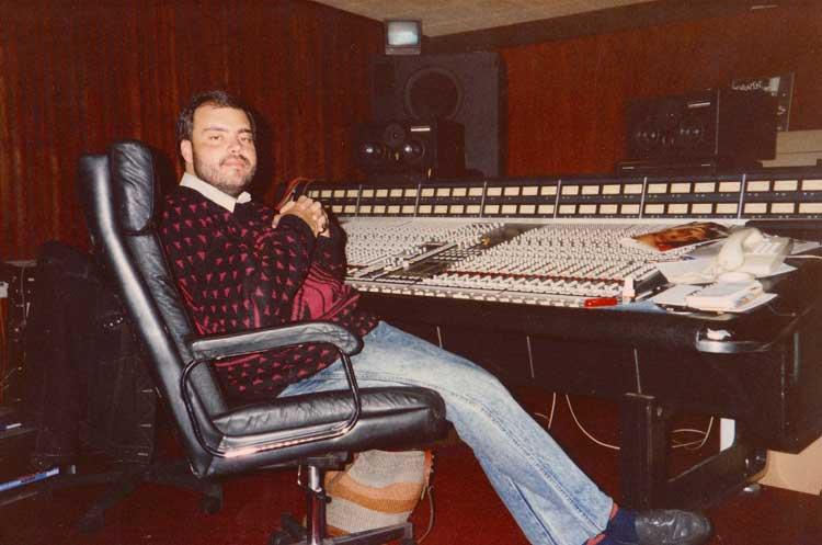 Me at Studio 2 Battery