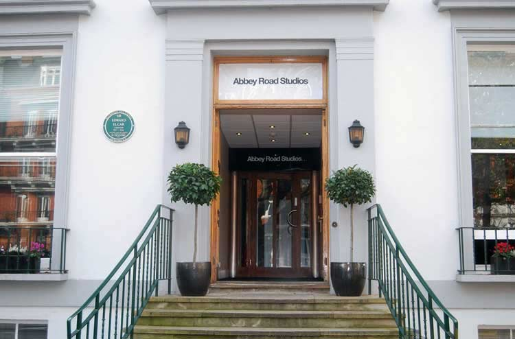 Abbey Road 2017 entrance