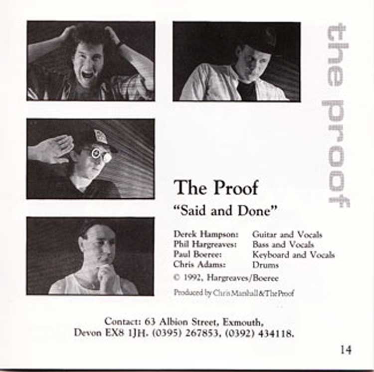 The Proof album track