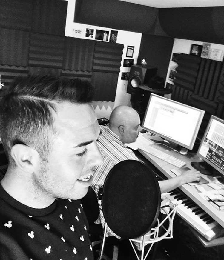 Chris Dennis at rpl studios
