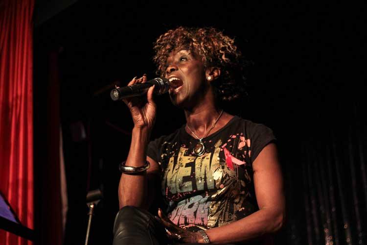 Zeeteah Massiah at RVT 4