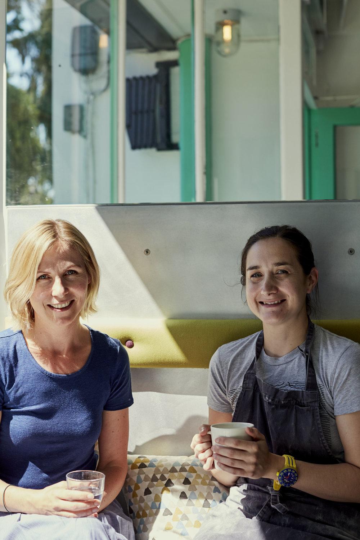 Melissa and Lindsay of Modern Baker