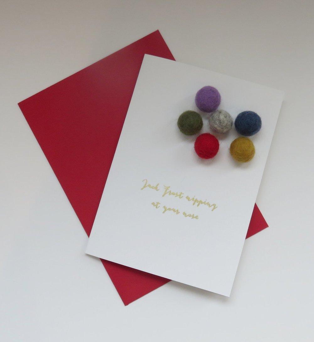 Homemade Christmas Cards — The Busy Box Company