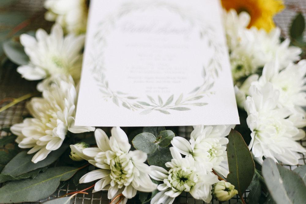 BRIDAL SHOWER INVITES -