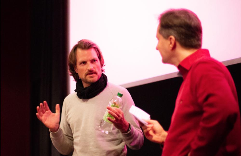 Filmplus Festival 2018 - Nach der Vorführung von Es war einmal Indianerland im Gespräch mit dem Publikum und Dietmar Kraus.