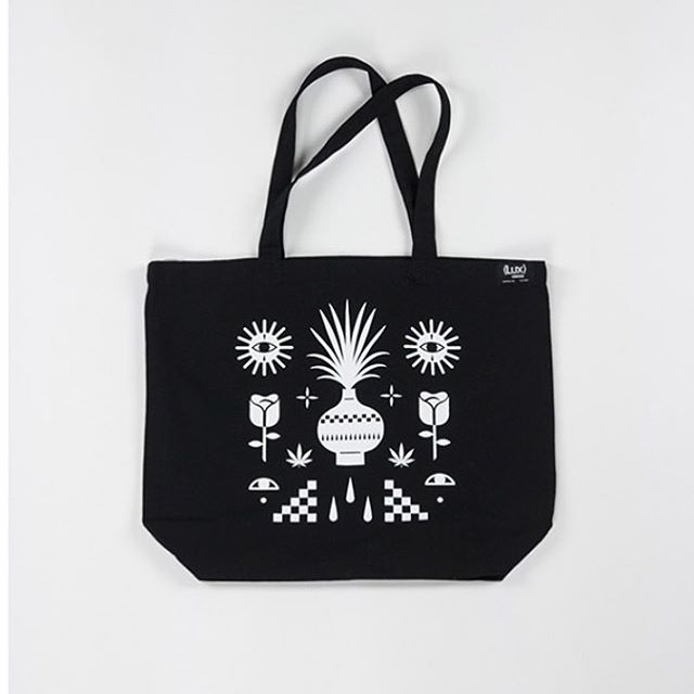 JESSE BROWN x LUX TOTE : $25