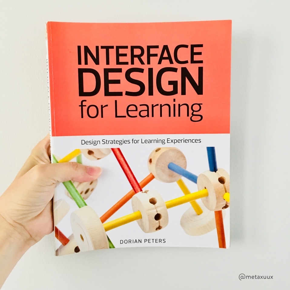 Photo of Interface Design for Learning, by Dorian Peters