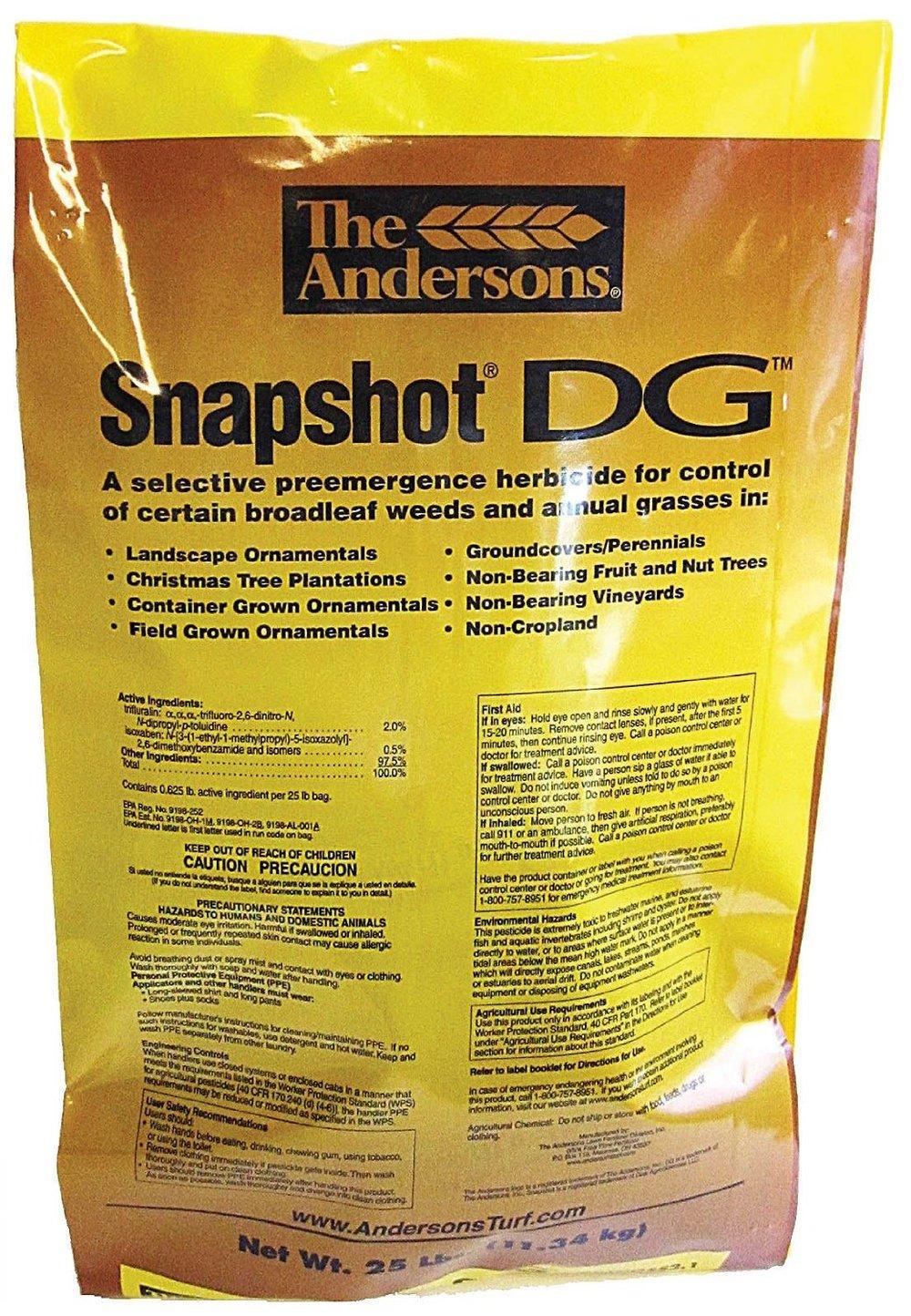 Snapshot DG Herbicide