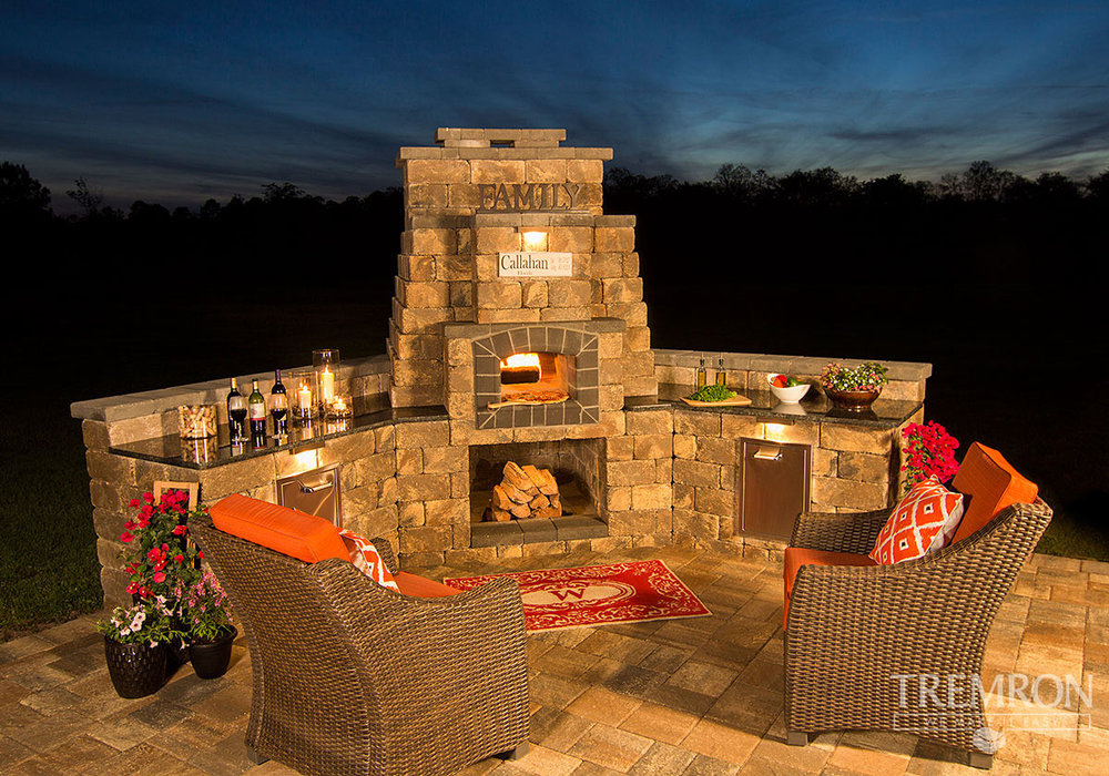 - Fireplaces