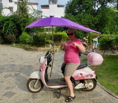 Biking Around Yangshuo Sensible Lobster