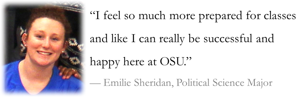 Emilie Sheridan's Experience