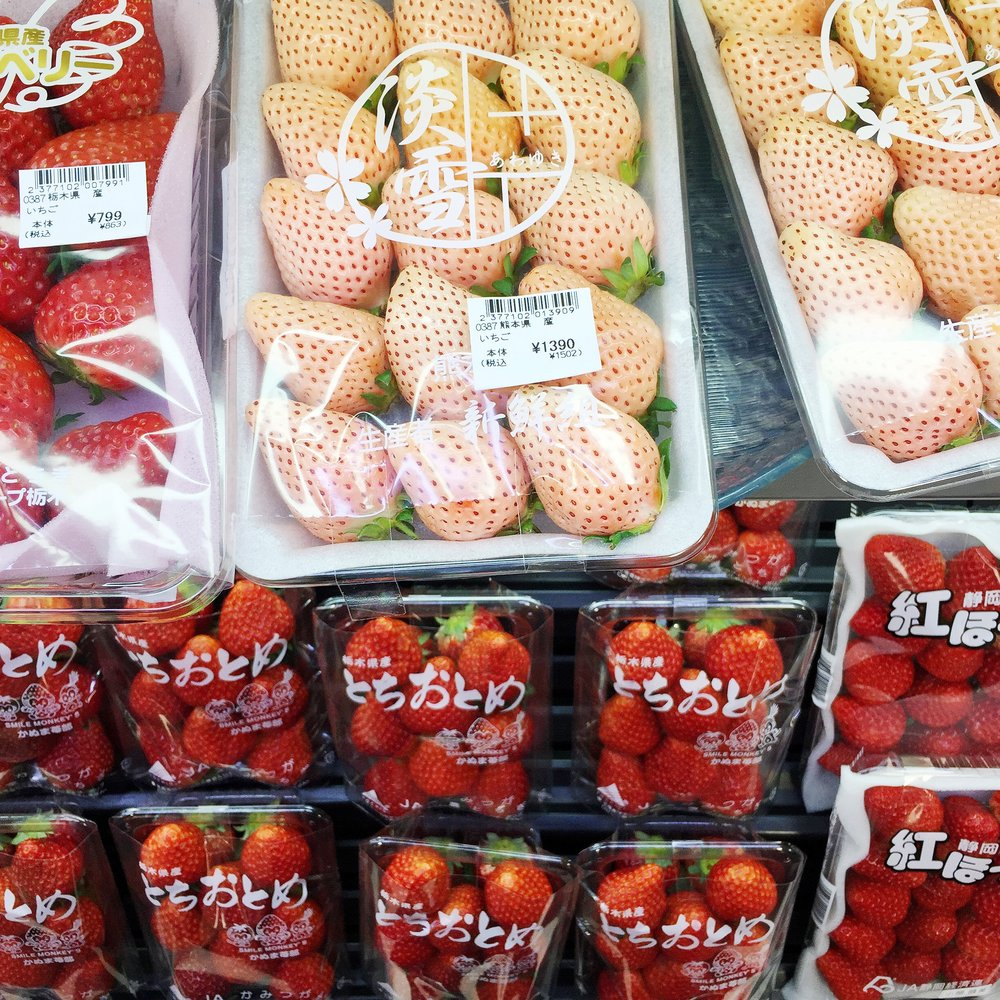 Organized Strawberries