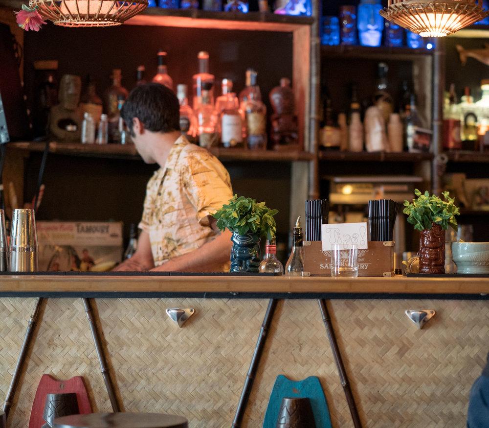 The Tiki Lounge Bar