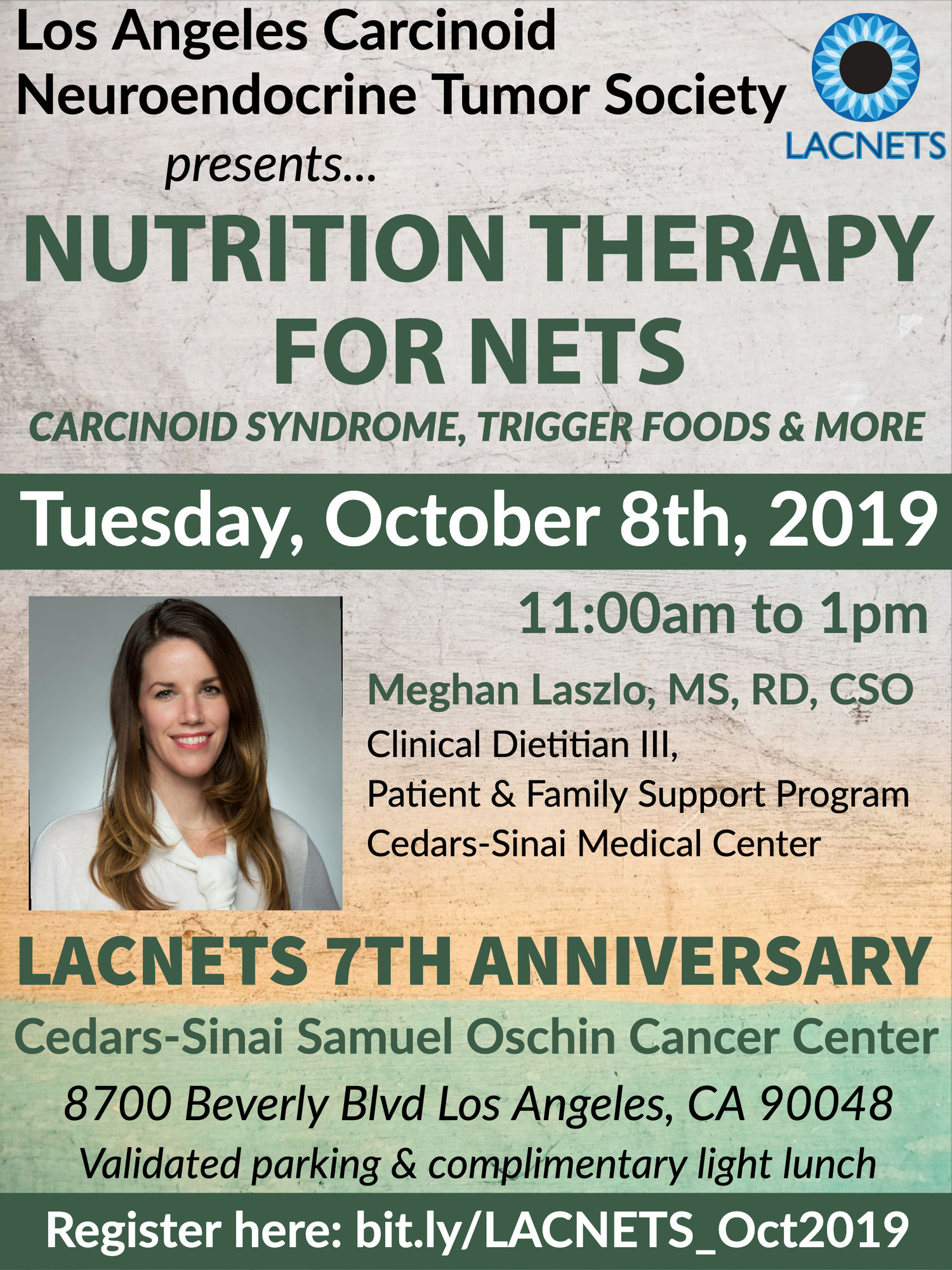 LACNETS October 8th Meeting hosted by Cedars-Sinai — LACNETS