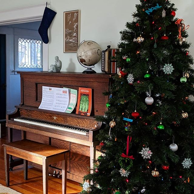 What is your most important holiday tradition?  So often at Christmas, I don't know where we will be, or how we will be celebrating; however, music is portable.  We take the traditional songs with us wherever we go.  #christmas #christmastradition #christmasmusic #christmastree #christmasdecor #homedecor