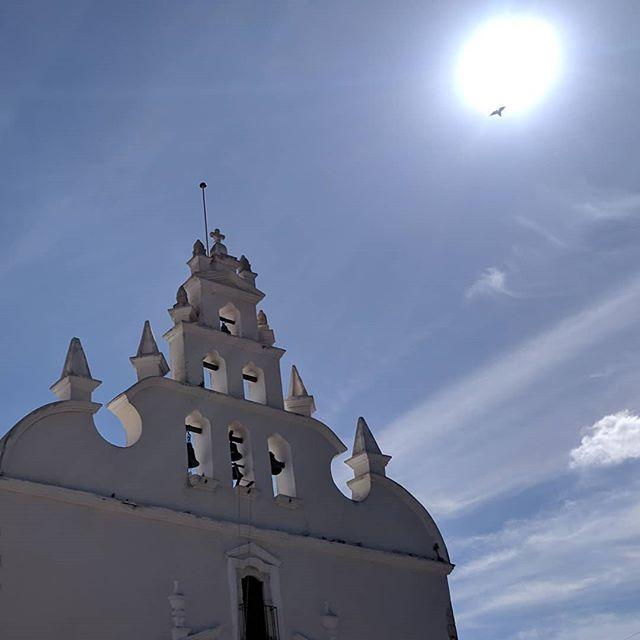 Icarus in Merida  #nofilterneeded #merida #mexico #church #sun