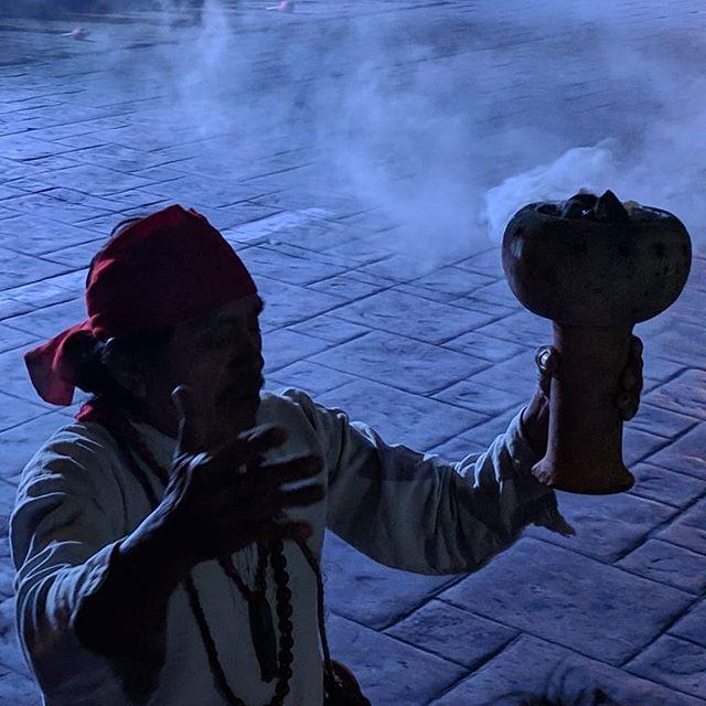 Incantation before the Mayan Ball Game #mesmerizing #maya #nofilter