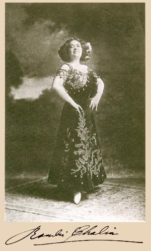 Rosalia Chalia, undated publicity photograph