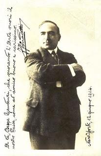 Ferruccio Corradetti - Signed publicity photo