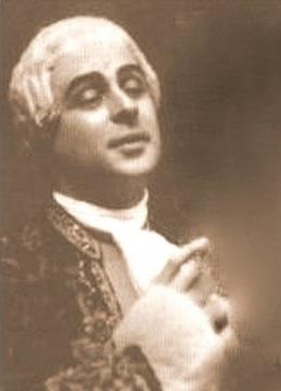 Louis Cazette as the Chevalier Des Grieux