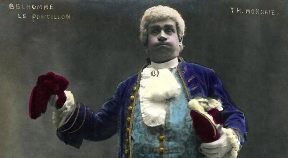 Hippolyte Belhomme as Bijou in Le postillon du Longjumeau