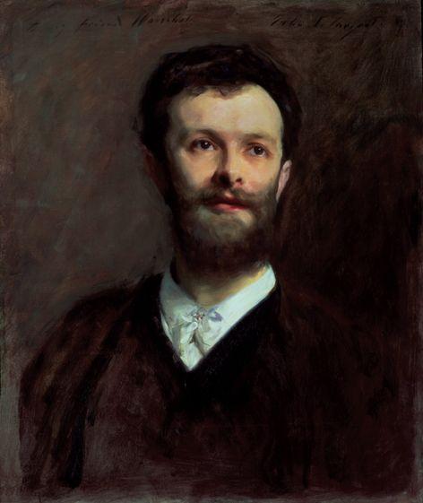 Henschel in 1889, portrait by John Singer Sargent