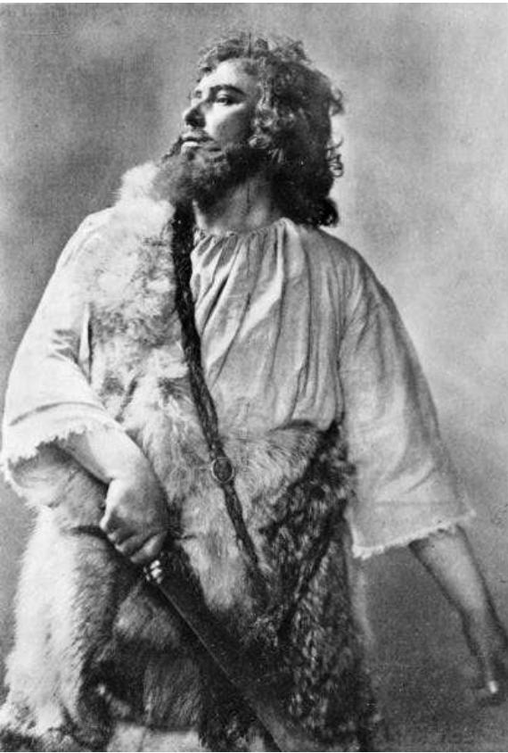 """Urlus as Siegfried in """"Götterdämmerung"""""""