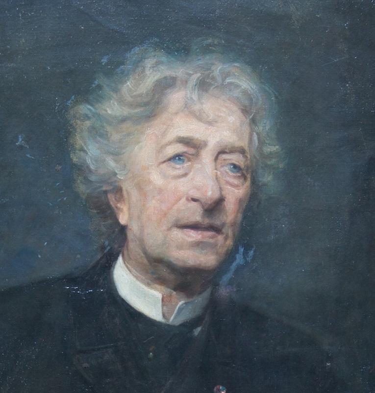 Peter Schram - portrait by unknown artist