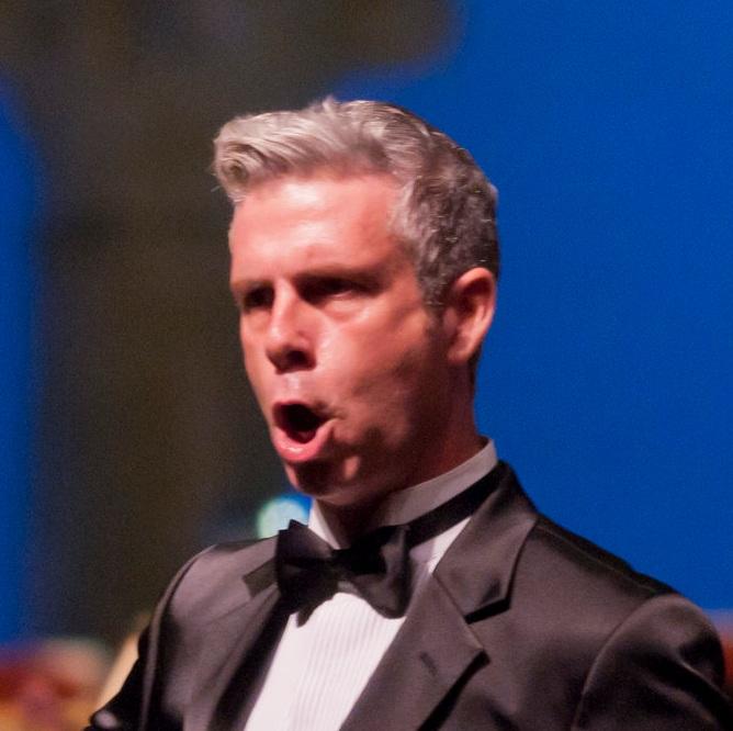 Daniel Mobbs as William Tell at Caramoor