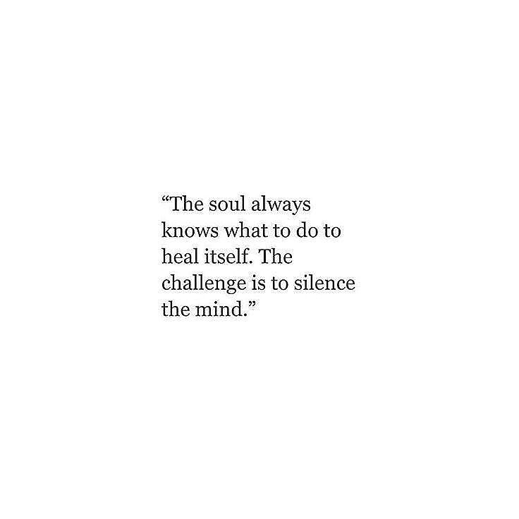 Your 🧠 isn't what decides whether or not your happy, fulfilled or staying true to yourself. Your heart (soul, or whatever you like to call it) is ♥️ - Your mind can HELP support you, direct you or provide insight - but you can never out-think your truth. Remember that 🙏🏻
