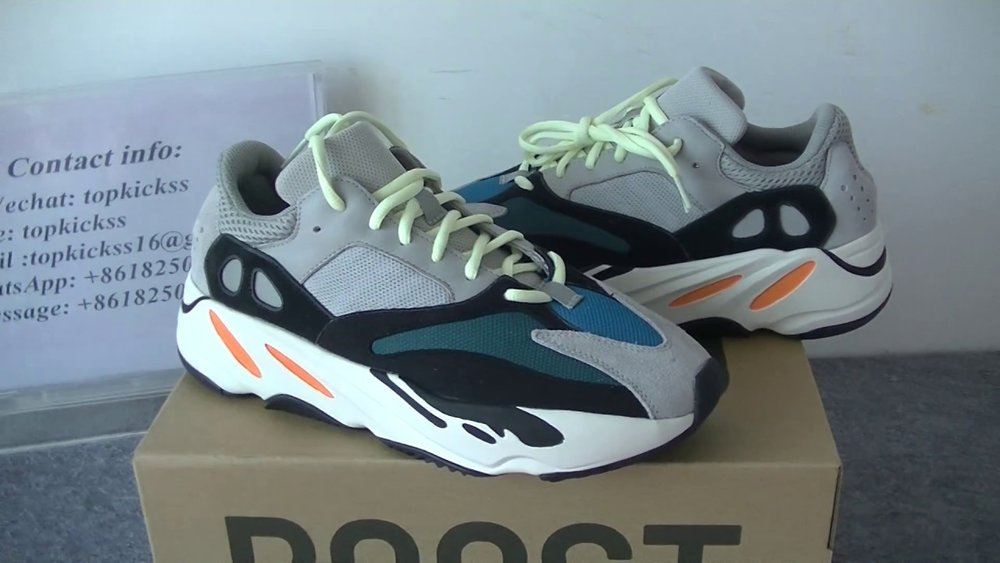 14d62ab7c0e5b Adidas - New Colors Unveiled Yeezy Boost Wave Runner 700. — IBexclusive