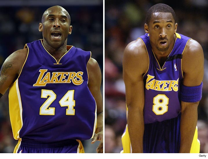 new styles a5f71 4ad20 Kobe Bryant jersey retirement: Lakers to hang No. 8 and No ...