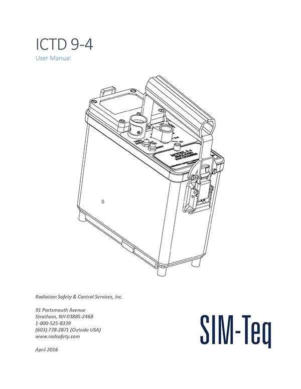 ICTD 9-4 User Manual