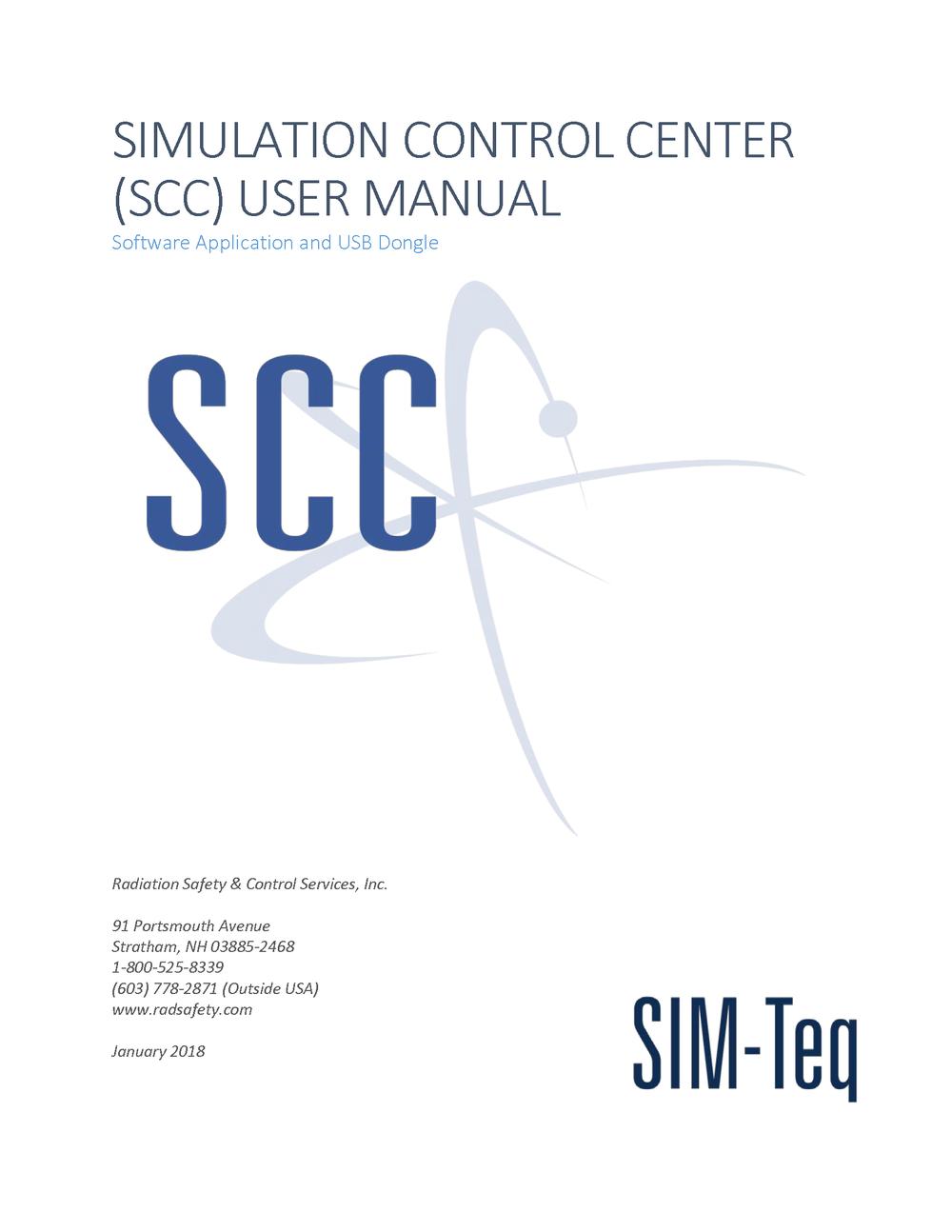 SCC User Manual