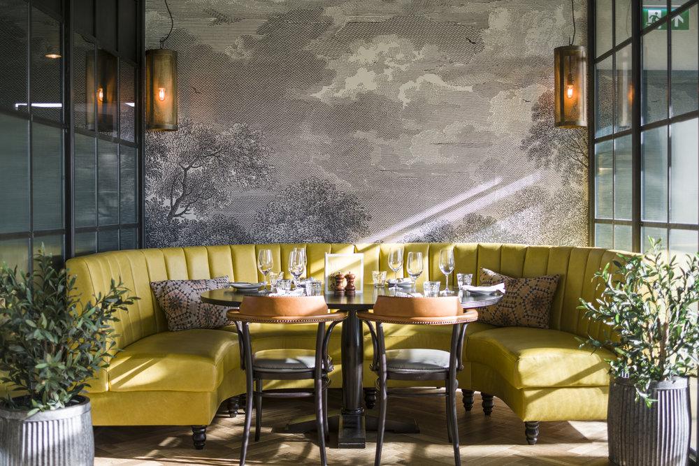 BOLD AS BRASS_ - Brasserie Blanc, Fulham Reach