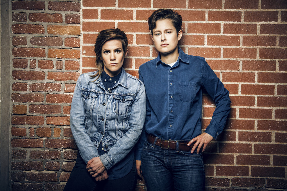Cameron Esposito and Rhea Butcher, Comedians and Creators of Take My Wife