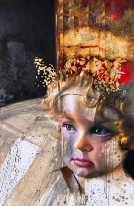 """"""" Niño De Las Estrellas"""" by Yehoshua Villarreal I."""