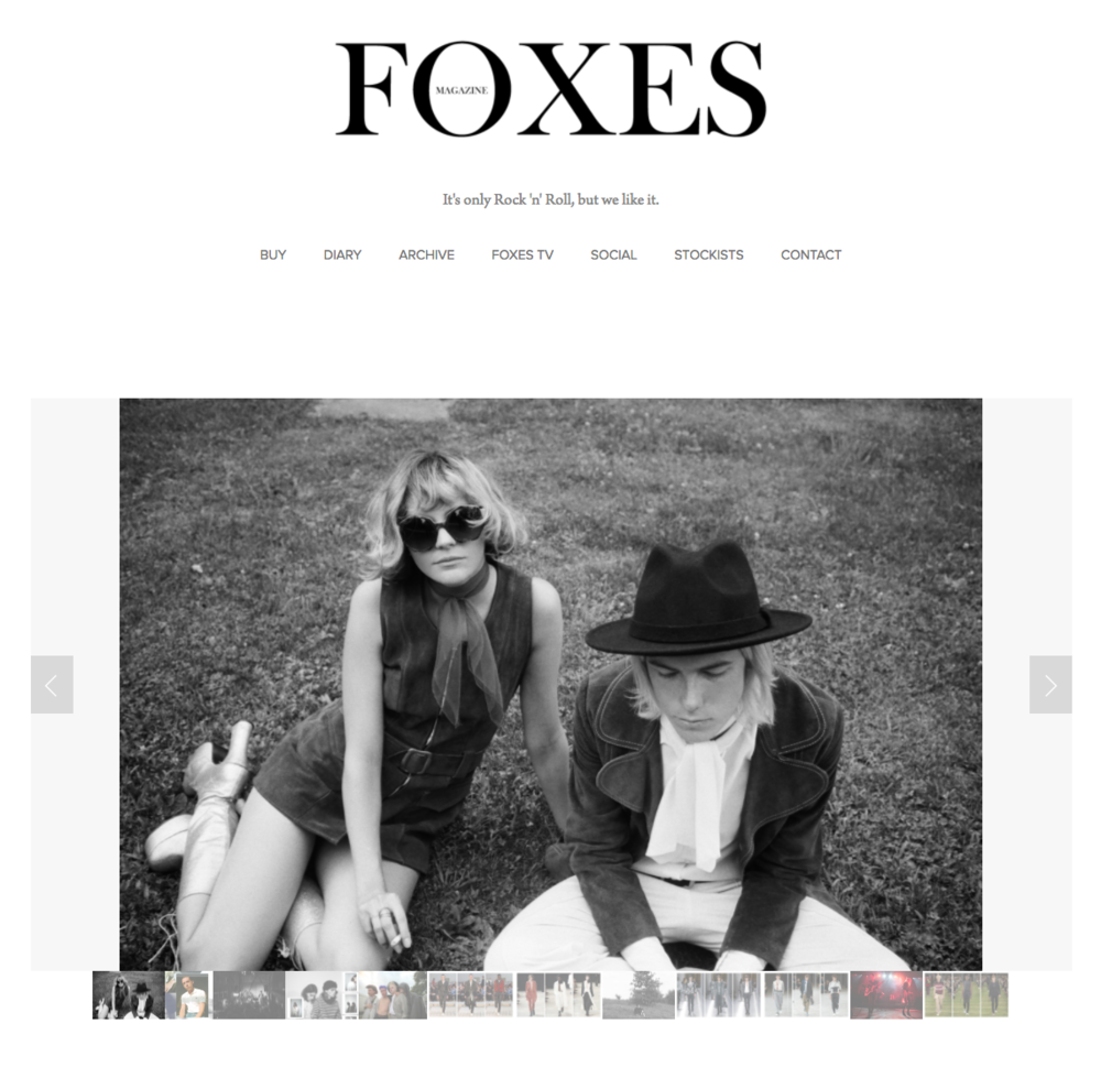 Foxes mag 1.png