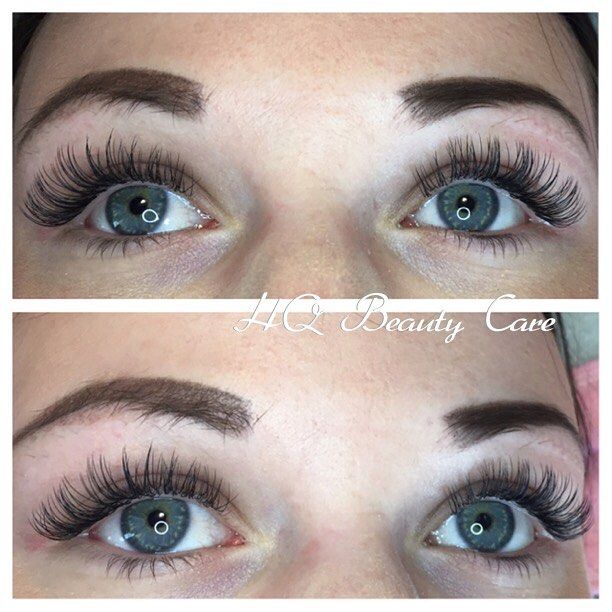 Eyelash Extension Service Classic And Volume Hq Beauty Care