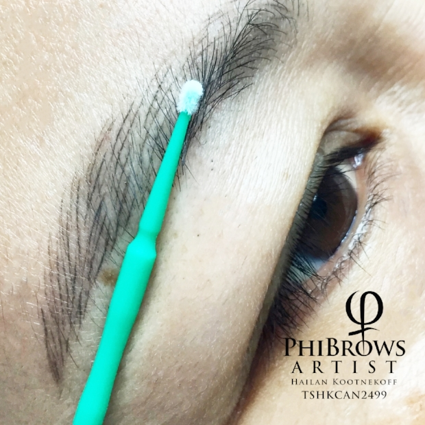 Healed Microblading brow