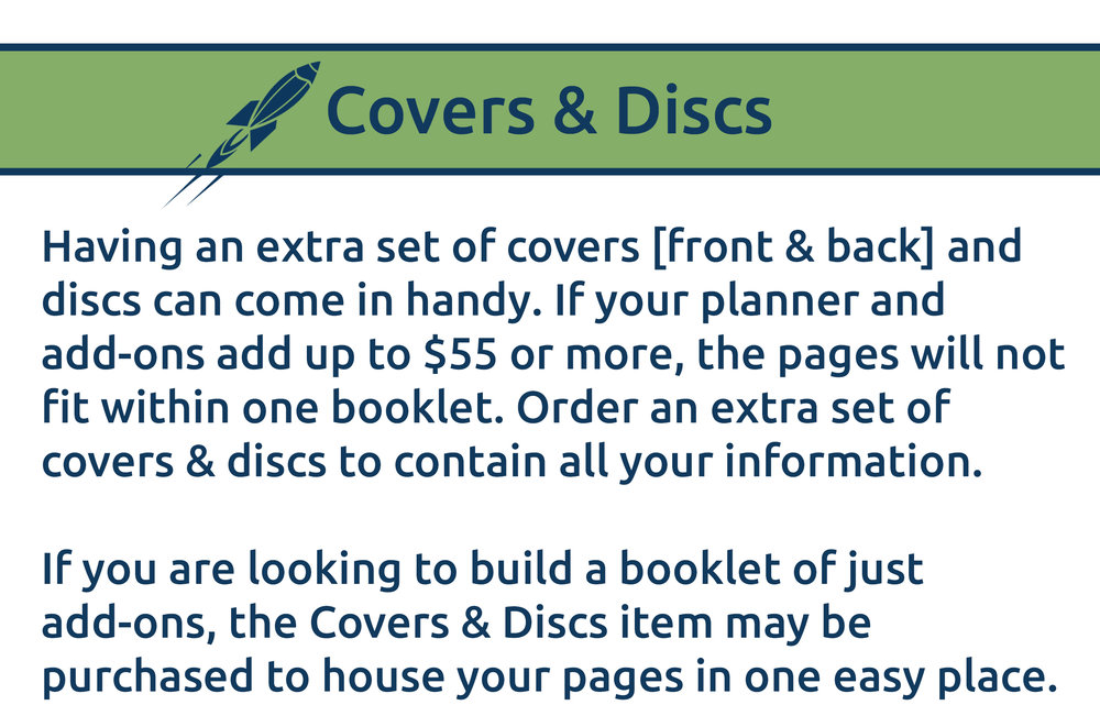 Disc Bound Planner Cover Discs