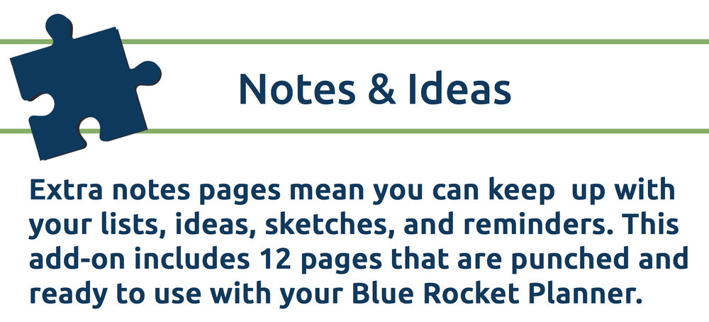 Notes & Ideas Pages