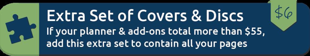 Extra Covers & Discs Set