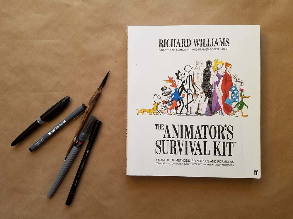 The Animator\'s Survival Kit (Richard Williams) — Creative Meow