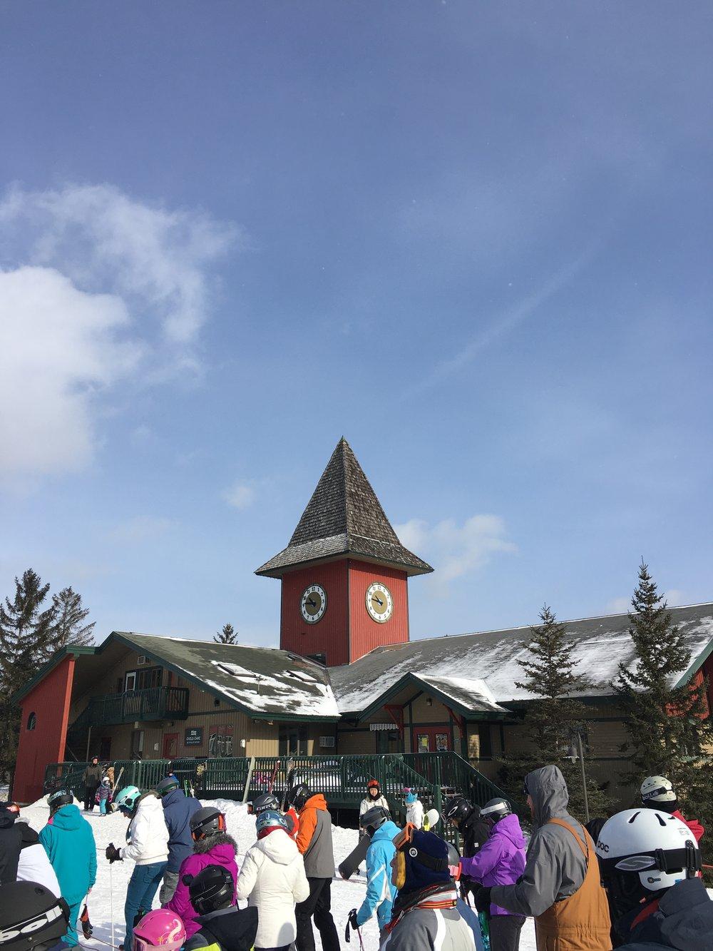 The main village at Mount Snow.