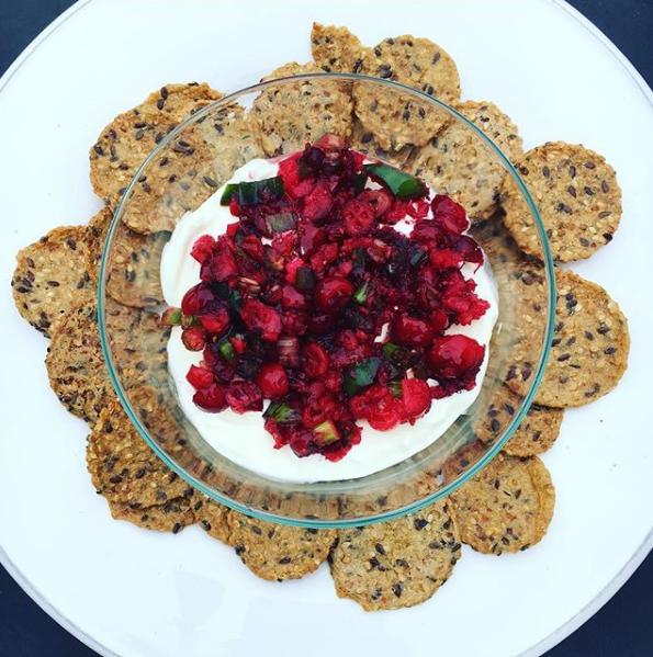 cranberry-jalapeño dip