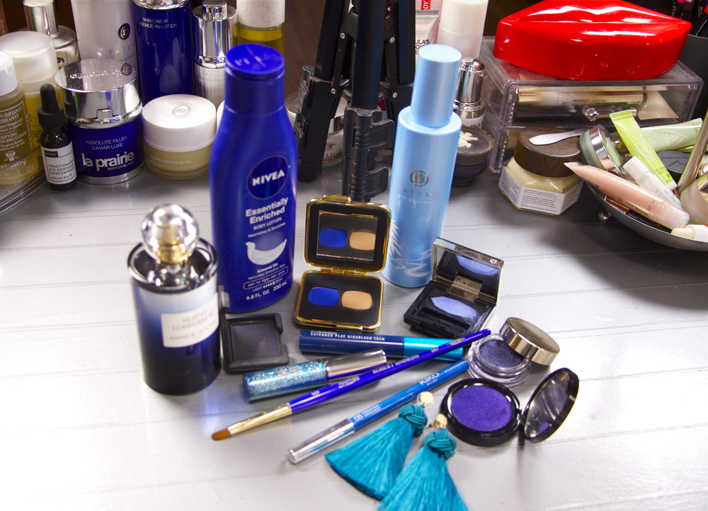 Katie's favorite blue products.   -