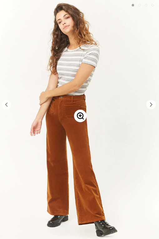 Forever21- Courduroy Wide  Leg Pants